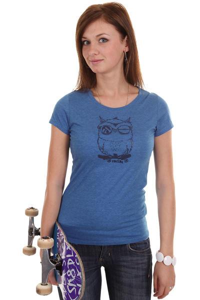 Iriedaily Skateowl T-Shirt women (blue melange)