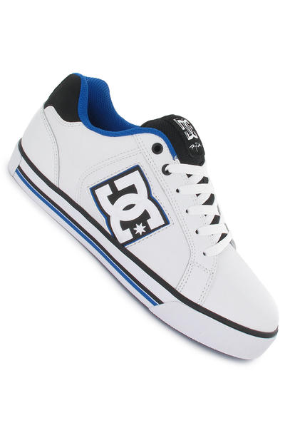 DC Stock Schuh (white black blue)