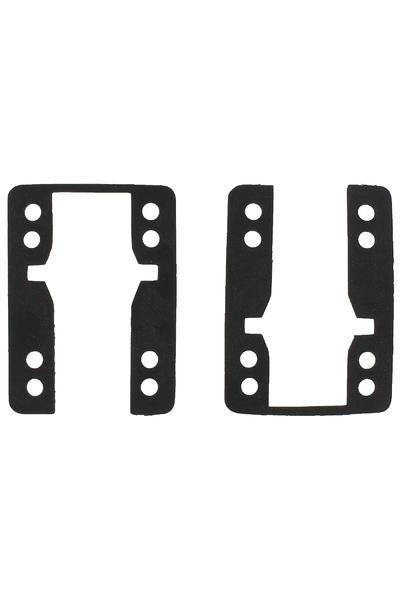 "Khiro 1/8""Drop Thru Shock Pad (black) 2er Pack"