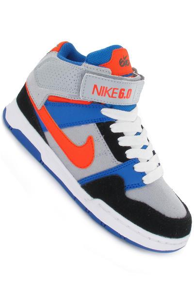Nike SB Mogan Mid 2 Schuh kids (wolf grey safety orange black)