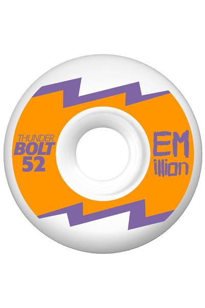 EMillion Thunderbolt Series 52mm Wheel 4er Pack  (neon orange)