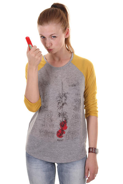 Insight Ashes To Ashes Longsleeve women (grey marle)