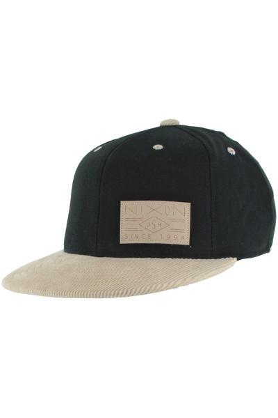 Nixon Dobby Flexfit 210 Cap (black tan)