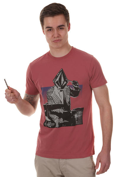 Volcom Wigwam T-Shirt (lumber jack red)