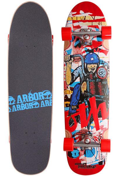 """Arbor Shakedown GT 35"""" (89cm) Komplett-Longboard"""