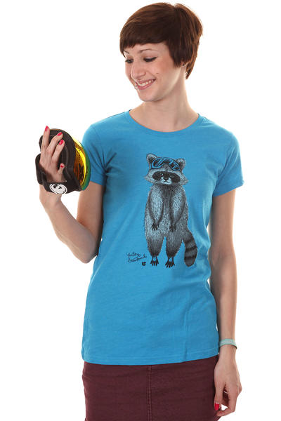Burton Raccoon T-Shirt women (heather blu-ray)