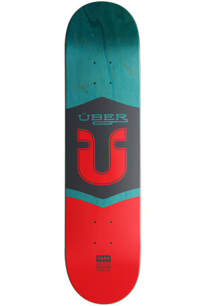 "Über Skateboards Icon 7.875"" Deck (multi)"