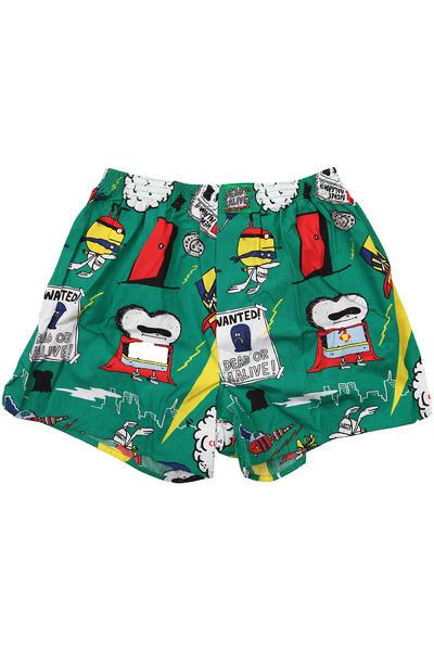 Lousy Livin Underwear Superhelden Boxershorts (fresh green)
