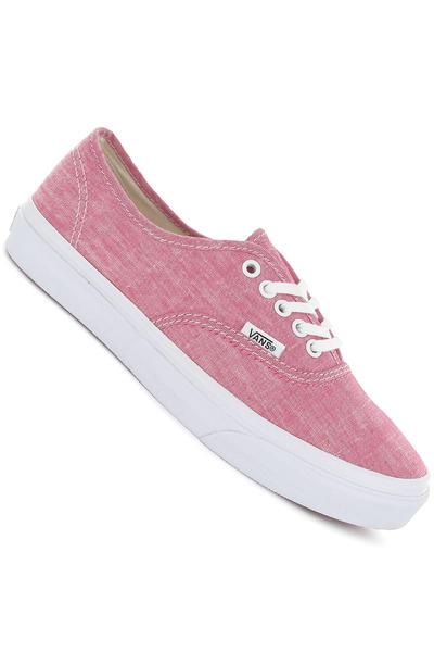 Vans Authentic Slim Schuh women (chambray red true white)
