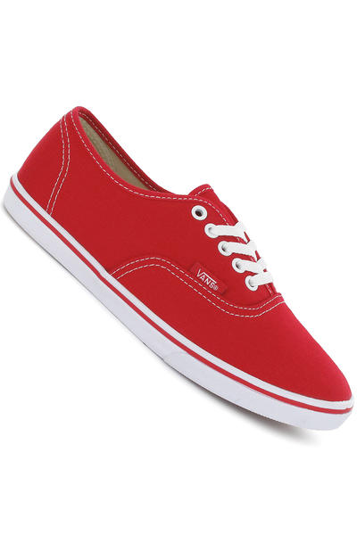 Vans Authentic Lo Pro Schuh women (true red true white)
