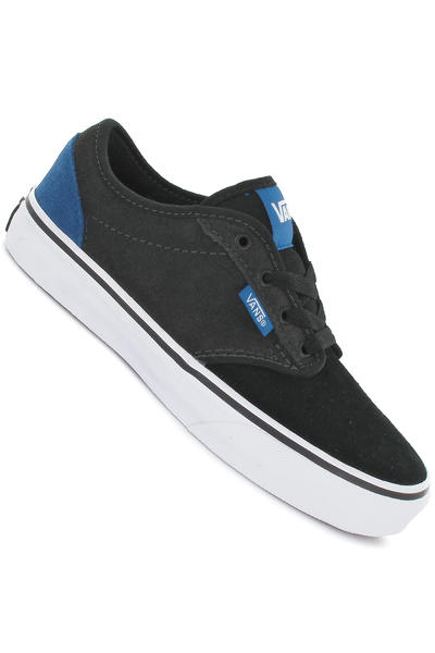 Vans Atwood Suede Schuh kids (classic blue pewter black)