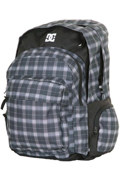 DC Backup Backpack (black plaid)