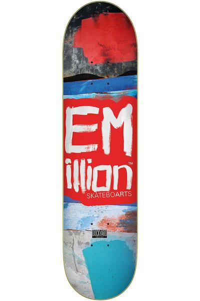 """EMillion Dockyard Series 8"""" Deck (scarlet red)"""