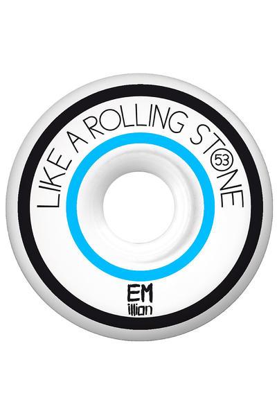 EMillion Like A Rolling Stone Series 53mm Rollen 4er Pack  (blue)