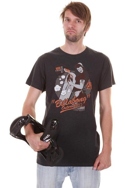 Billabong Wax T-Shirt (black heahter)