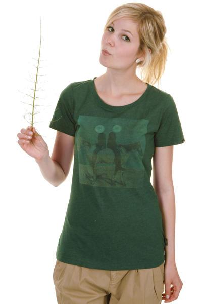 Forvert Chelsea 2 T-Shirt women (green melange)