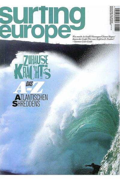 Surfing Europe 89 Mai 2012 Magazin