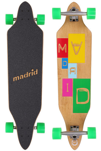 """Madrid Creep Typewriter-Standard 38"""" (96,5cm) Komplett-Longboard"""
