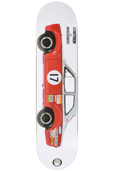 "Robotron Minichamps Series II Ford Escort 7.625"" Deck (white red)"