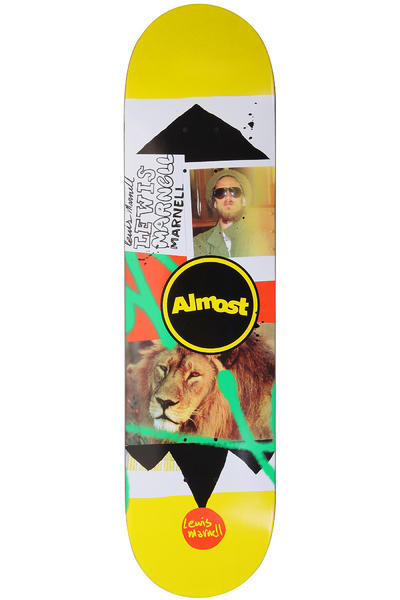 "Almost Marnell Circle Collage 8"" Deck (yellow)"