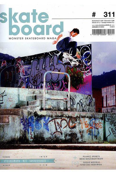 Skateboard MSM Monster Skateboard Magazin #311 2012