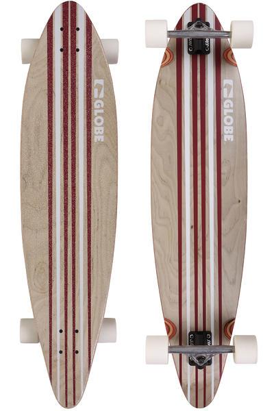 """Globe Pinner 41.25"""" (105cm) Komplett-Longboard (white red)"""