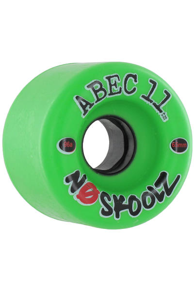 ABEC 11 No Skoolz 65mm 96A Wheel (green) 4 Pack