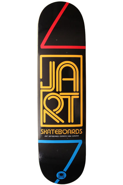 "Jart Skateboards Neo Logo 8.25"" Deck (black yellow)"