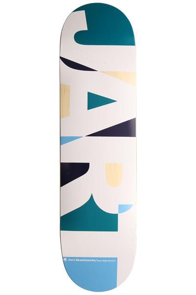 """Jart Skateboards Puzzle Logo 8.25"""" Deck (light blue)"""