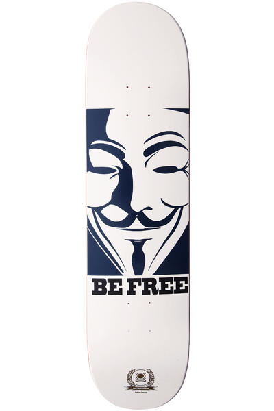 "Jart Skateboards Be Free 7.875"" Deck (white blue)"