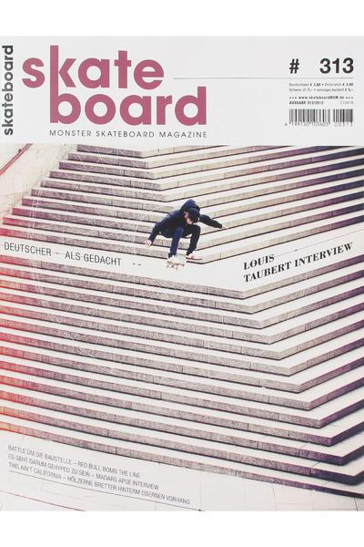 Skateboard MSM Monster Skateboard Magazin #313 2012