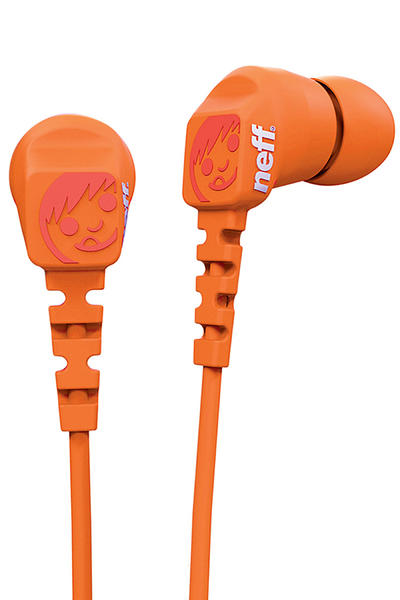 Neff Daily Ear Buds Kopfhörer (orange)