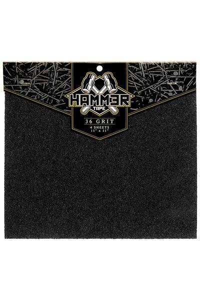 """Landyachtz Hammer 11"""" x 11"""" Griptape (black) 4er Pack"""