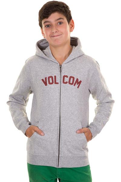 Volcom West Side Zip-Hoodie kids (heather grey)