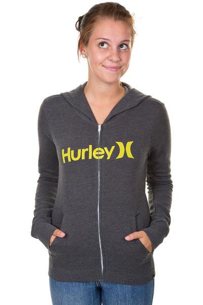 Hurley One & Only Slim Zip-Hoodie women (black)