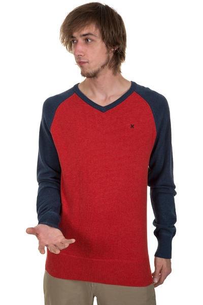Hurley Only Sweatshirt (heather redwing)