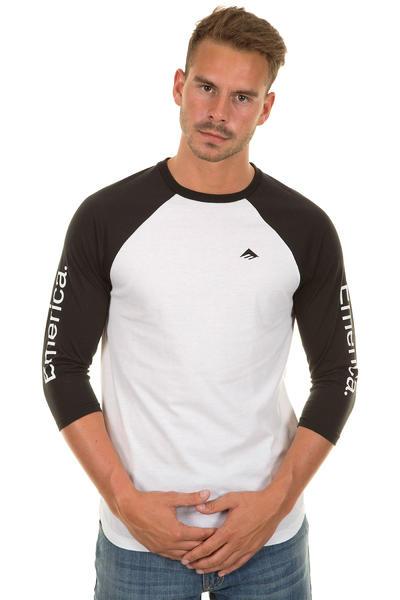 Emerica Team Combo 3/4 Longsleeve (black white)