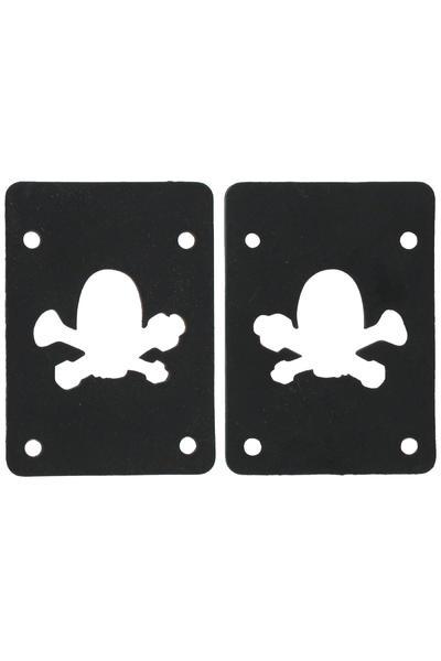 MOB Skateboards Skull Logo 2mm Shock Pad (black) 2er Pack