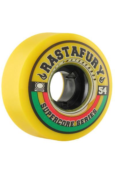 Jart Skateboards Rastafury 54mm Rollen 4er Pack  (yellow)