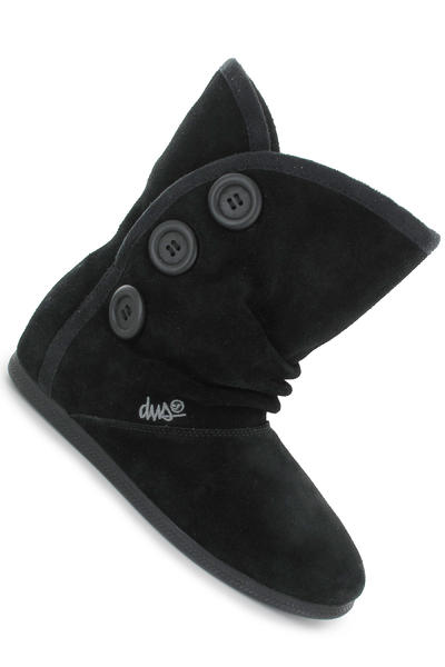 DVS Shiloh Button Suede Schuh women (black)