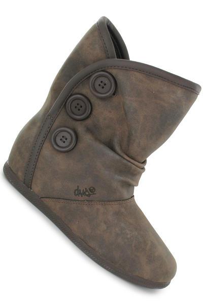 DVS Shiloh Button Leather Schuh women (brown)
