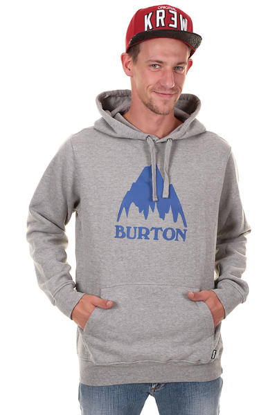 Burton Classic Mountain Hoodie (heather grey)