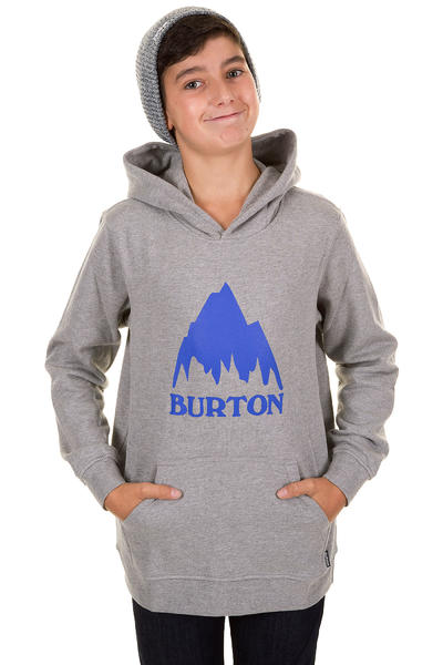 Burton Classic Mountain Hoodie kids (heather gray)
