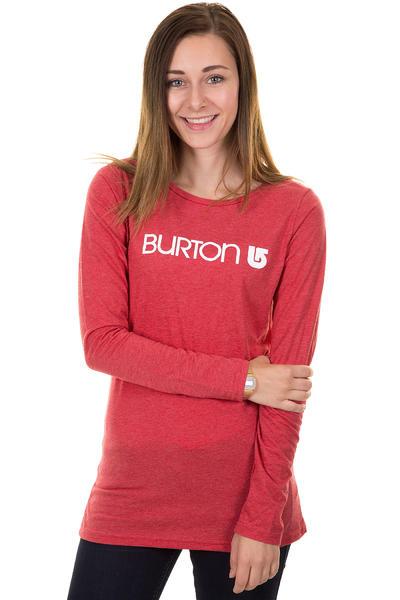 Burton Her Logo Longsleeve women (heather cardinal)