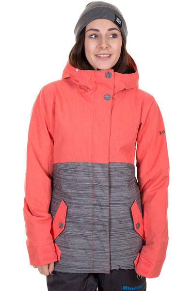 Roxy Fast Times Snowboard Jacke women (hot coral)