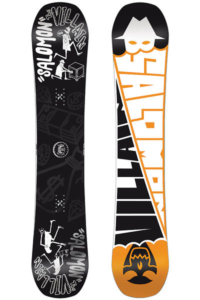 Salomon The Villain 158cm Wide Snowboard 2013/14