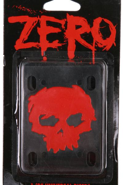 "Zero 1/8"" Pad (black red) 2er Pack"