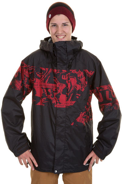 Volcom Atlantic Pacific Snowboard Jacke (blood red)