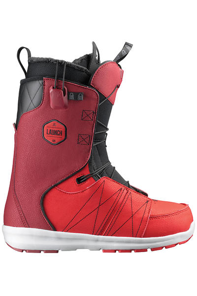 Salomon Launch Boot 2013/14  (burgundy black bright red)
