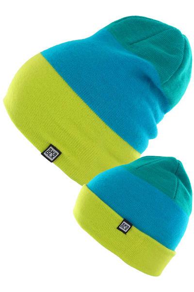 SK8DLX Three Mütze (green blue lime)
